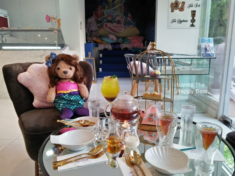 Baking Mermaid Cafe Bangkok Review Nambi The Happy Bear 10